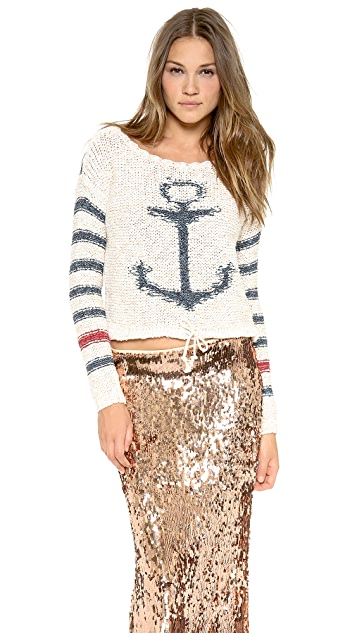 Free People Sailor Song Pullover