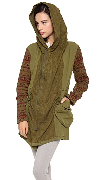 Free People Printed Parka