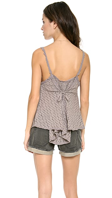 Free People I Got My Eyelet on You Top