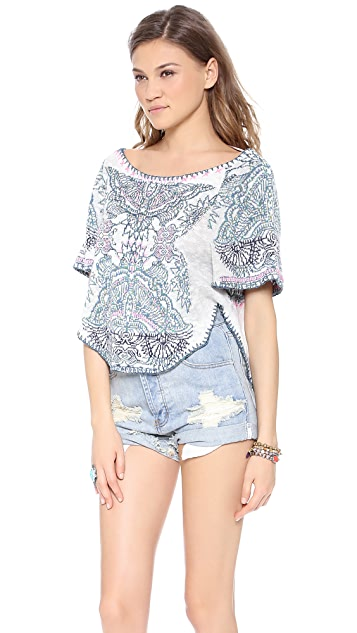Free People Patterned Sweater