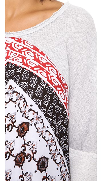 Free People Del Rey Pullover