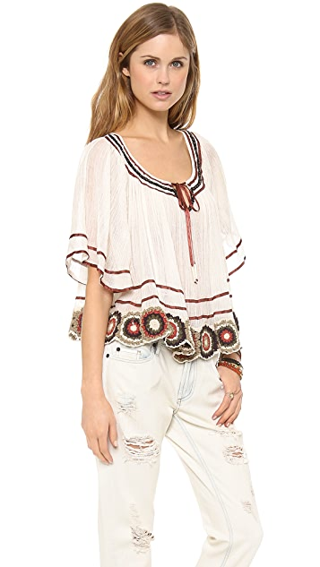 Free People The Way She Moves Top