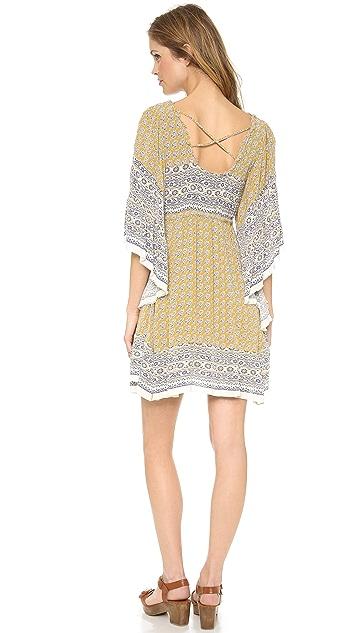 Free People Heart of Gold Mini Dress