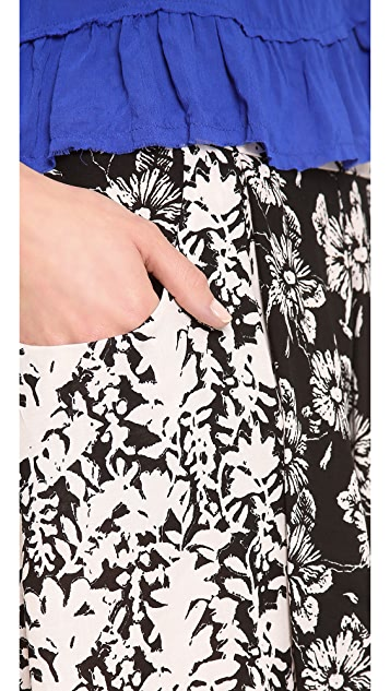 Free People High Rise Culotte Shorts
