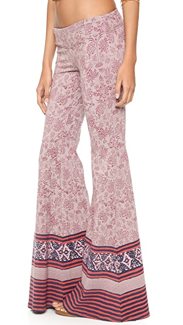 Free People Flare Pull On Pants