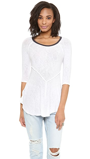Free People Weekend Layering Tee