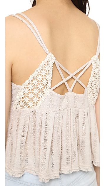 Free People Chemical Lace Romance Top