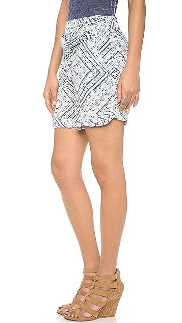 Free People Twisted Ikat Shorts