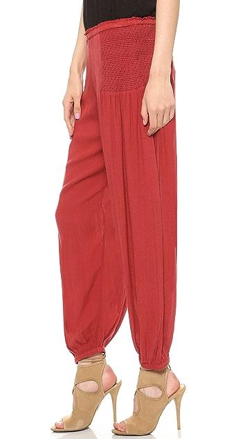 Free People Leighanna Smocked Pants