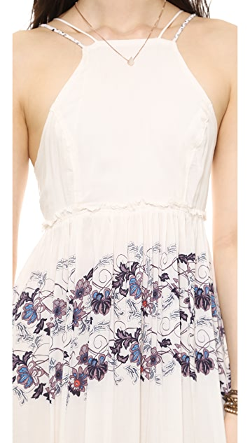 Free People Babydoll Maxi Dress