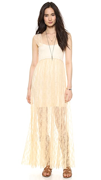 Free People Romance In The Air Slip