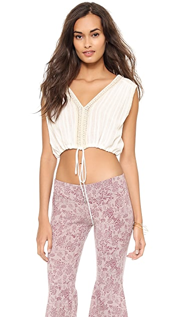 Free People Olivia Crop Top