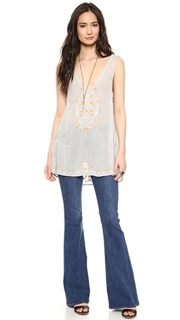 Free People Wild Strawberries Top
