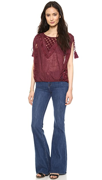 Free People South of the Equator Top