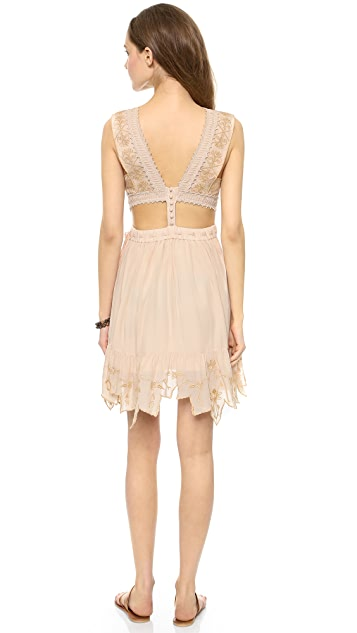 Free People Honey Suckle Rose Dress