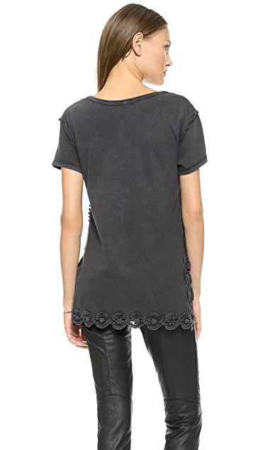 Free People The Graphic Stone Tee