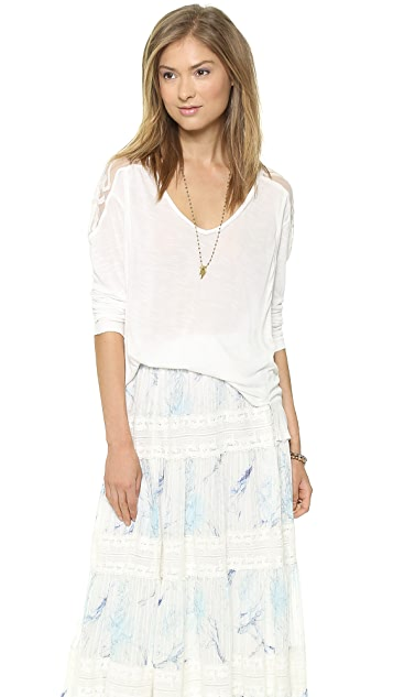 Free People Gatsby Long Sleeve Top