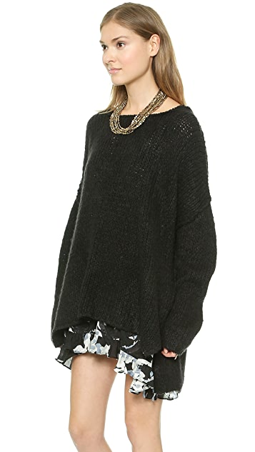 Free People Teddy Bear Pullover