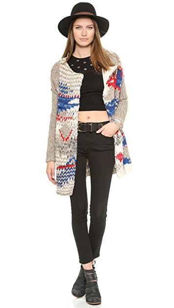 Free People Daytona Sunny Layering Crop Top