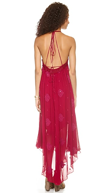 Free People Blue Moon Draped Dress