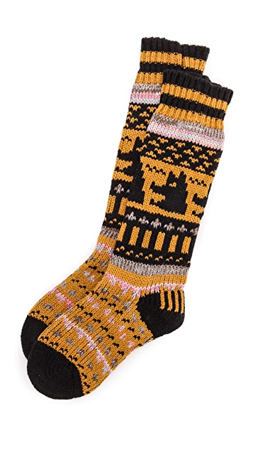 Free People Cozy Nepali Socks