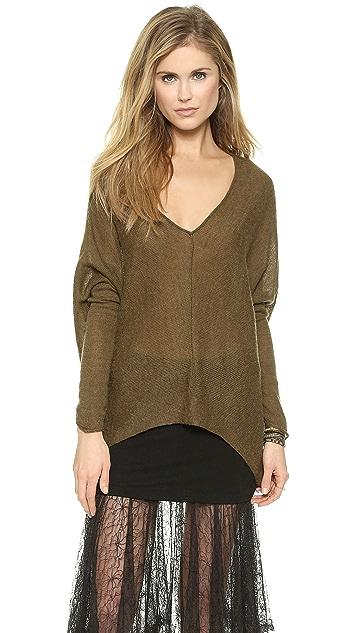 Free People Sadie V Pullover Sweater
