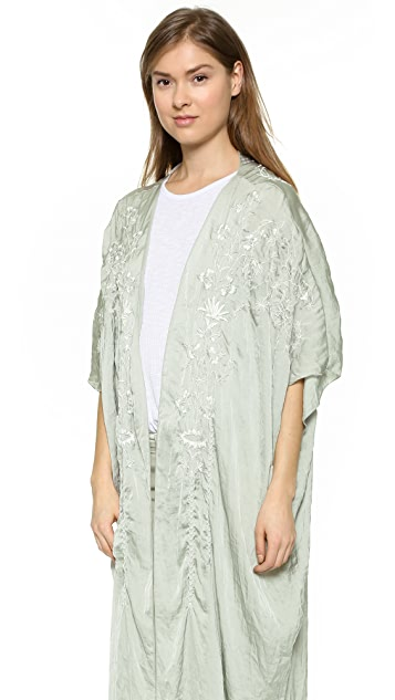 Free People Sweet Sunrise Kimono