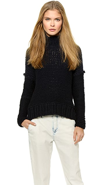 Free People Long Summer Pullover Sweater