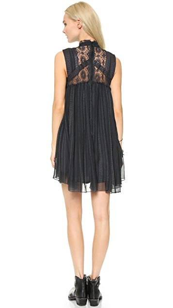 Free People Printed Penny Babylon Dress