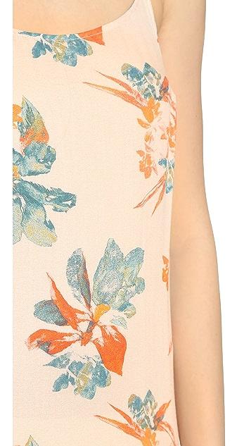 Free People Printed Maxi Dress