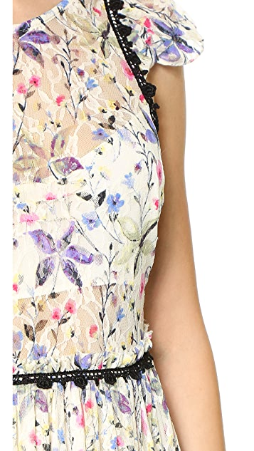 Free People Cherry Blossom Maxi Dress
