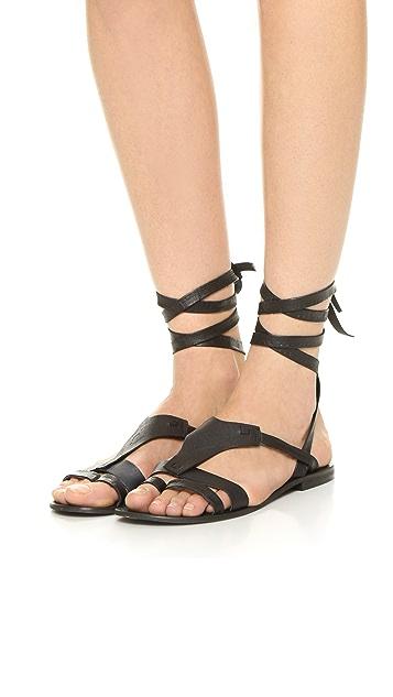 Free People Oliveira Wrap Sandals