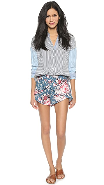 Free People Extreme Crossover Shorts