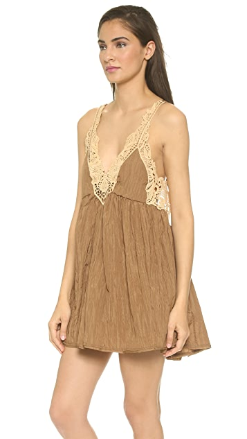 Free People Breathless Mini Dress