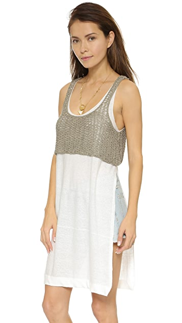 Free People Two Tone Twofer Tank
