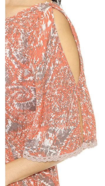 Free People Love Birds Mini Dress