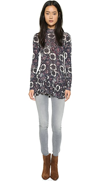 Free People Anabelle Printed Tunic