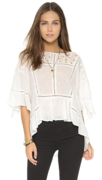 Free People New Age Dot Top