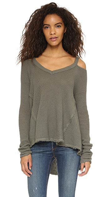 7d9e5f983cdcc Free People Moonshine V Neck Sweater