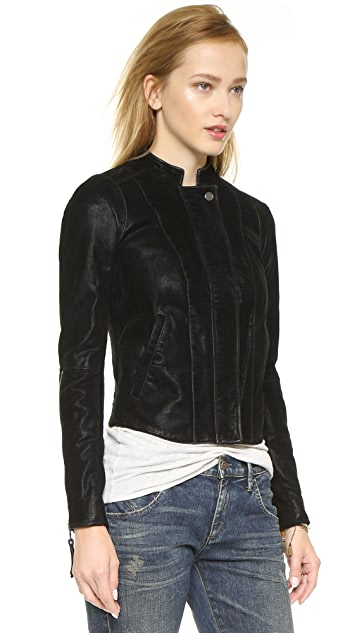 Free People Clean Vegan Jacket