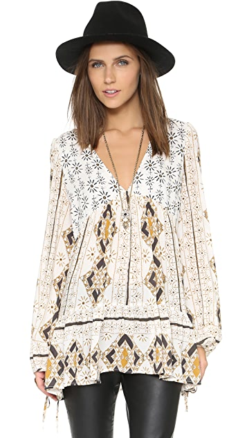 Free People Down By The Bay Dress