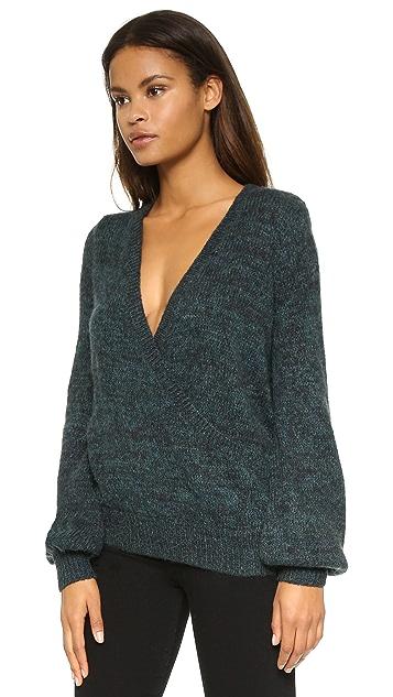 Free People Karina Wrap Sweater