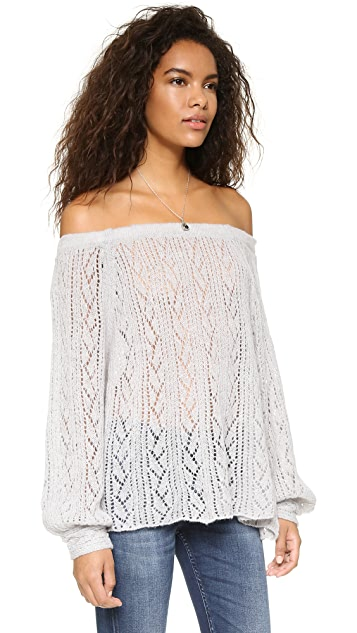 Free People Lights Will Shine Pullover