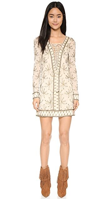 Free People Sicily Beaded Shift Dress
