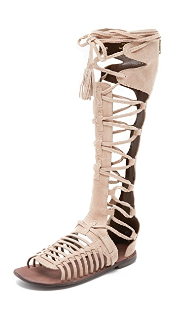 f539cae855a Free People Sun Seeker Gladiator Sandals
