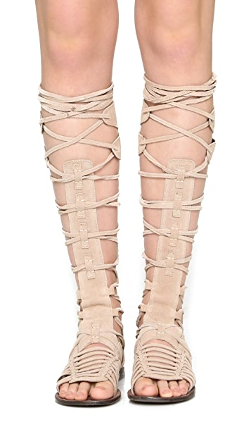 Free People Sun Seeker Gladiator Sandals