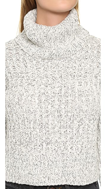 Free People Twisted Turtleneck Sweater