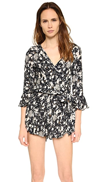 Free People All The Right Ruffles Romper