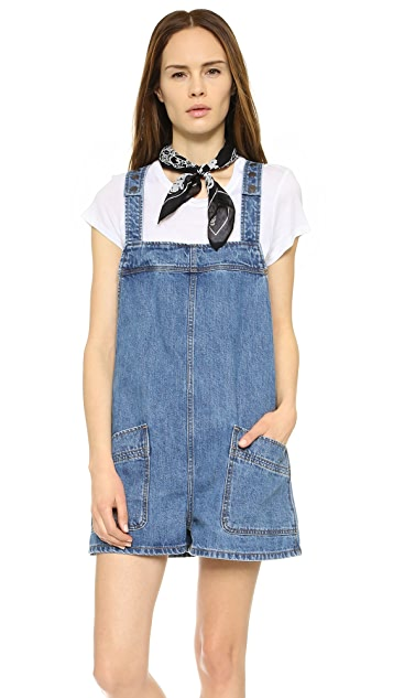 Free People Springfield Shortalls