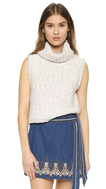Free People Little White Lies Sweater